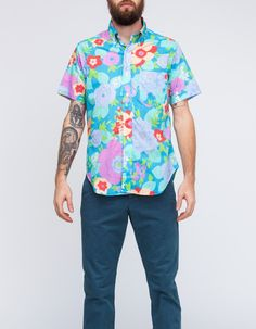 Fascinating. I love this floral shirt from Mark McNairy
