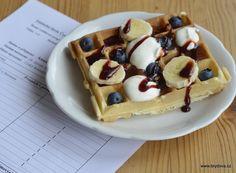 Vafle – sladké recepty | brydova.cz Breakfast, Anna, Food, Morning Coffee, Meal, Essen, Hoods, Meals, Morning Breakfast