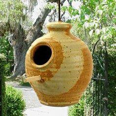 ceramic  bird feeders, bird feeder, unique bird feeders