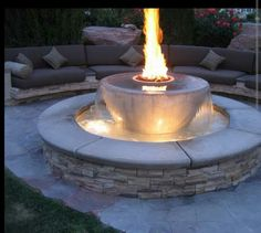 Firepit and more agua