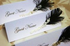 The great Gatsby themed wedding