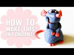 How to make Remy from Ratatouille - Cake Decorating Tutorial - YouTube