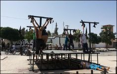 isis persecution of Christians   ISIS Crucifies 8 Christians in Syria for Apostasy From Islam