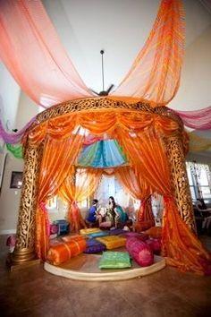Sangeet decorations - Indian wedding decoration