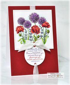 Garden Fireworks Digital Stamp Set