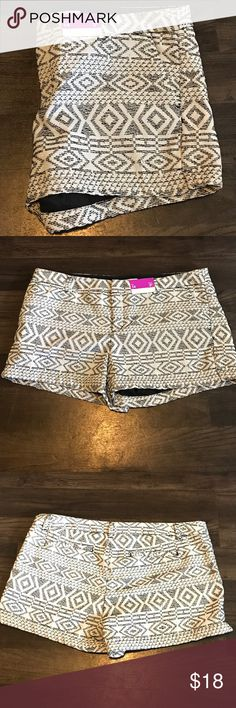 Aztec shorts! Light weight material! Never before worn! And new with tags!!!  Surprisingly a super light weight material! Any questions just ask!  Please make a reasonable offer for any negotiations! ❤️ Merona Shorts
