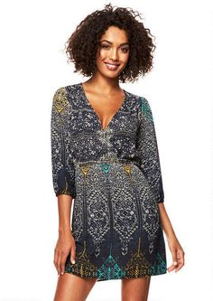 Lorie Surplice Dress #MyAlloy #Dresses