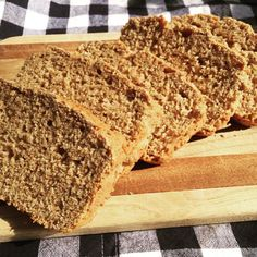 This is a simple quick bread recipe that tastes nutty, hearty, and slightly sweet.  It has a texture similar to a heavier yeast bread.  This is the perfect complement to any soup or stew.  I love it for breakfast too!