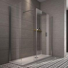 Indi 1800 x 700 Walk in Shower Enclosure inc Tray and Waste - - Walk In Showers - Shower Enclosures - Aquabliss Bathrooms Remodel, Bathroom Shower, Walk In Shower Enclosures, Bathroom Design, Shower Doors, Modern Bathroom, Bathroom Shower Design, Bathroom Decor, Shower Enclosure