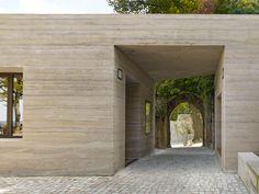 Max Dudler Architekt, Sparrenburg Visitor Centre, Germany, 2014