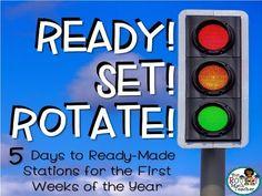 Ready, Set, Rotate: 5 Days to Ready-Made Math Stations Teacher Blogs, Math Teacher, Math Classroom, Teaching Math, Teaching Ideas, Math Games, Math Activities, 5th Grade Math, Fourth Grade