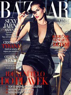 Cindy Crawford for Harper's Bazaar CZ May 2013
