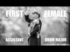 WATCH THIS VIDEO: Drumming the Way | First Female Assistant Drum Major