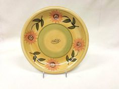 """DINNER PLATE, 4PC PLATE SET SUNFLOWER YELLOW by ACK. Save 41 Off!. $26.79. Sunflower Collection.Perfect collection for Summer and Spring.Sunflower is the #1 American Favorite Item.The favorite Flower for this time of the year.Brings light and it will enhance any kitchen or room with this great color. o100% hand-paintedo100% purce ceramicoHigh Finish GlossoHigh QualityoAll items are dishwasher safeoDesign: """"sunflower yellow""""oColors are bright and ElegantoInfo for Canisters ( plastic a..."""