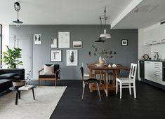 Dunkle Böden und Wände sind sehr im Trend und uns gefällt der Look wirklich gut. Oft hat man ab...