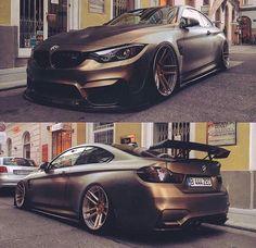 BMW Z-Performance F82 M4 matte green