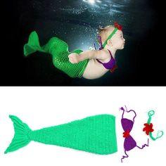Mermaid Costume For Toddler