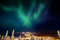 A Sky Full of Christmas Spirit. Hotelli Iso-Syöte Oy. By Hotelied.