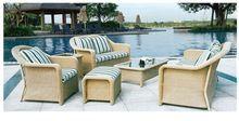 Synthetic/Plastic/Poly Rattan Garden Furniture, Garden Sofa