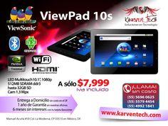 Volante promoción Viewpad 10s