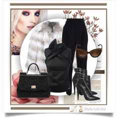#Fur #Outfit by http://style-list.biz  Join us on Facebook to get updates: https://www.facebook.com/stylelist.biz  #Style, #Fashion and #Shopping #Guide