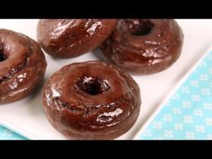 How To… Make Low-Calorie Chocolate Donuts | Hungry Girl Videos