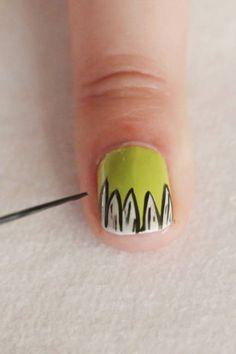 Monster Mash Nails: Step 10