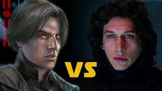 Kylo Ren vs Darth Caedus: Star Wars Canon vs Legends