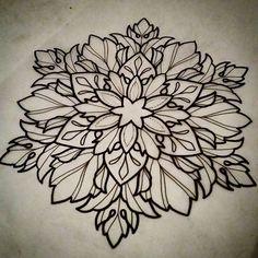 """""""Sevenechek@gmail.com #tattoo #tatouage #dunkerque #ink #dotworktattoo #blacktattooart #mandalatattoo #blacktattoo #dotsandpatterns #ornementaltattoo…"""""""