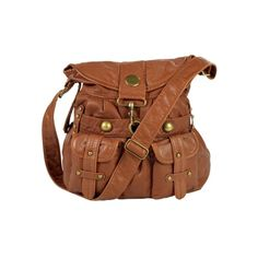 Saddle Crossbody Bag, Chestnut, at Journeys Shoes ($35) ❤ liked on Polyvore featuring bags, handbags, shoulder bags, accessories, purses, crossbody handbag, brown shoulder bag, purse crossbody, purse shoulder bag and brown cross body handbags