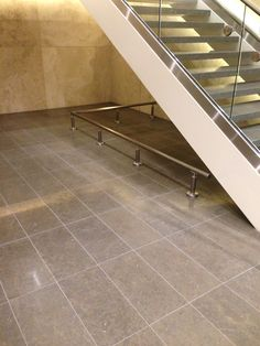 Commercial stair Commercial Stairs, Tile Floor, Flooring, Tile Flooring, Wood Flooring, Floor