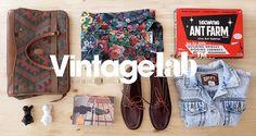 Set Styling _ Él ♥ Ella : Guía de regalos // VintageLab on Behance