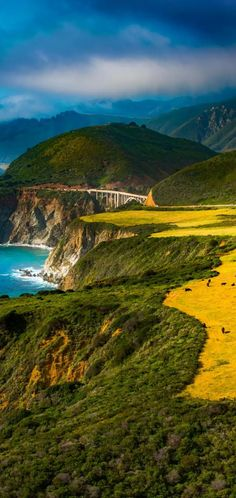 Amazing Places On Earth, Big Sur California, Monterey County, Go Outside, Bellisima, Beautiful World, The Good Place, Coastal, Ocean