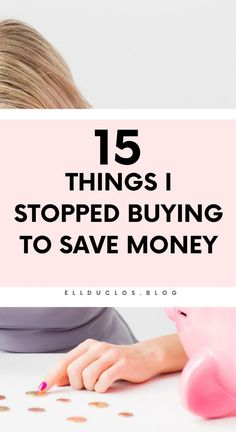 15 things I stopped buying to save money. How you can save more money in Savings Challenge, Money Saving Challenge, Money Tips, Money Saving Tips, Save Your Money, How To Make Money, Financial Organization, Home Spa Treatments, Frugal Living Tips