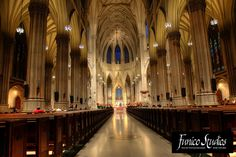 I would just die if I could walk down an isle this grand and breathtaking