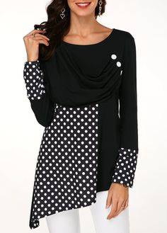Stylish Tops For Girls, Trendy Tops, Trendy Fashion Tops, Trendy Tops For Women Page 13 Stylish Tops For Girls, Trendy Tops For Women, Long Sleeve Tops, Long Sleeve Shirts, Cheap Womens Tops, Casual Tops, Colorful Shirts, Fashion Outfits, Plus Sized Outfits