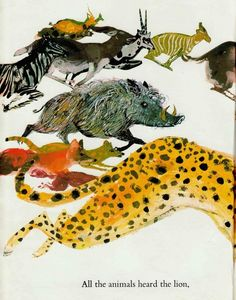 Brian Wildsmith's Illustrations for 'The Lion a... - Book Artists and Their…