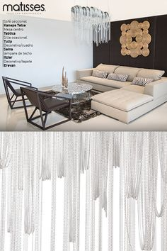 Experiencia Matisses: Un ambiente que recrear la sobriedad y el buen gusto a partir de muebles con líneas simples y una paleta de colores cálidos, que hacen el ambiente más confortable.