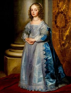 HRH Mary, Princess Royal of England (1631-1660)  Princess of Orange and mother of William of Orange, later king of Great Britain.