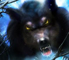 Werewolves Skin Walker, Werewolf Art, Howl At The Moon, Vampires And Werewolves, Big Bad Wolf, Creatures Of The Night, Classic Monsters, Wolf Howling, Halloween Horror
