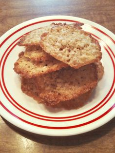 Oatmeal Crisps. Light, delicious & easy. Made using quick oats. #recipe