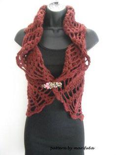 (4) Name: 'Crocheting : crochet jacket bolero shrug pattern nr02