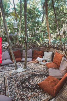 mexico architecture old Tulum, Quintana Roo Exterior Design, Interior And Exterior, Luxury Interior, Interior Ideas, Outdoor Spaces, Outdoor Living, Outdoor Lounge, Outdoor Travel, Indoor Outdoor