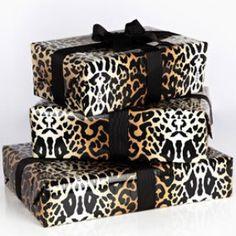 leopard print paper