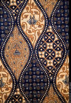 Detail of a batik design from Indonesia. ESY-002506168 © erik degraaf