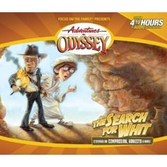 The Search For Whit (Adventures in Odyssey #27) I live this one! Eugene: I just found a clue! Jason: In the Bathroom?