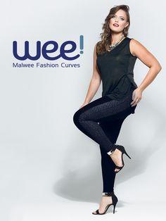 Um look total black para você se amar ainda mais nesse fds. Arrase! #fashioncurves #looks #fashion
