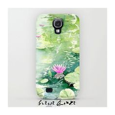 Water lily Lotus pool Galaxy S4 Case Samsung Galaxy by SuisaiGenki, $47.00