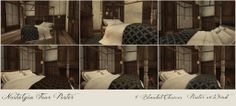 Scarlet Creative ▲ Nostalgia Four Poster Bed ▲ 8 variations ▲ Demo available ▲ 88L each ▲ 288L fatpack