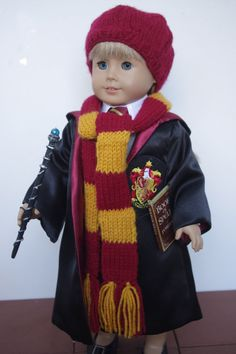 American Girl Doll, 18 inch doll, Harry Potter Set
